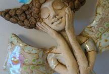 ceramic personnage / by Cecile Attia