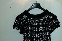 Crafts: Top-down crochet / uncinetto / Clothes crochet from top to bottom. Indumenti all'uncinetto da sopra a sotto.