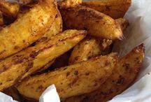 Kartoffelspalten Backofen