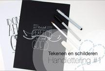 Handletteren en doodles