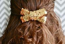 DIY hair bows / by Anna Ward