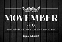 MOVEMBER / Bijoux Indiscrets grows a moustache for a good cause