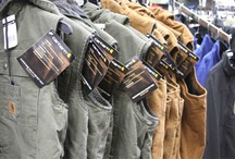 Work Wear / We have durable work wear for men, women and children that works as hard as you do. Featuring a wide variety of clothing and accessories, you're sure to find the right fit for you.