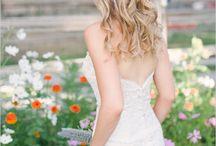 Cheveux  en fleurs