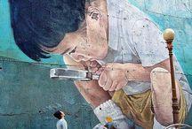 Seinämaalaukset/Muraalit