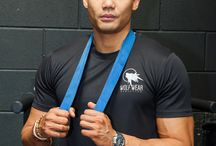Promo shoot for Wolf Wear Athletics with Gary Ho