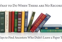 Genealogy - Family Tree - Family History / General Family History tips and finding aids.