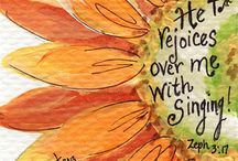 *Zephaniah-Bible Journaling by Book / Bible Journaling examples from the book of Zephaniah