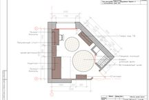 Interior Design / The interior design, concept, documentation, visualization