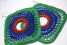 Pulling Strings / Crochet Earrings