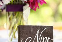 Table Numbers and Menu's / Easels, Frames, Underplates, Napkin Holders