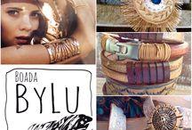 Boadabylu/mujer / Complementos cuero#bangles