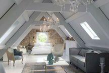 wooden roof room
