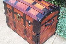 bagages rétro
