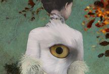 Paintings of Daria Petrilli