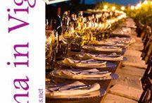 Cena in Vigna, una serata con buon vino e delizie locali 15 Luglio Prosto di Piuro (SO)