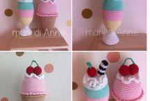 crochet play food