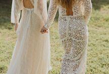 W. Reception weddingdress