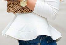 outfit  blusas peplum