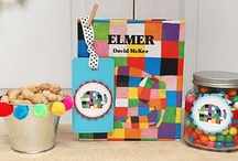 Party | Elmer the Elephant / Ideas for Busby's 2nd birthday!