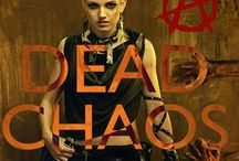 Dead Chaos Series / The Dead Chaos zombie apocalypse urban fantasy paranormal dystopian book series. Books include Dead Chaos and Playing Havoc. By Ryan and April Brookshire