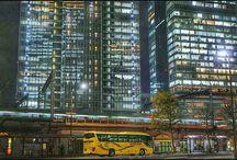 東京と有楽町の間。 ちゃんと絵作りしたら、かなり良い写真が撮れるんじゃないかと思いました。 とりあえず手持ちのもので。 a view of Tokyo #cityview #nightview #tokyo #urban #train #東京駅 #京浜東北線 #qx100写真