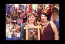 ARTESANIAS SAAVEDRA RUIZ / telares artesanales,tapices decorativos
