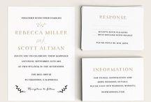 Invitations / by Crystal Webb