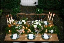 T A B L E S C A P E / Beautiful Table Decorating Ideas