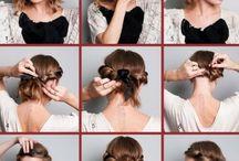 Как делать причёски