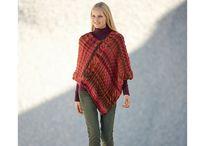 Knitting patterns / Ponchos