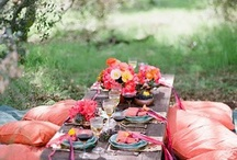OUTDOOR SOIREE'S / GREAT IDEAS FOR OUTDOOR PARTIES