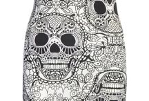Sexy Skull outfits /dresses/swim suits