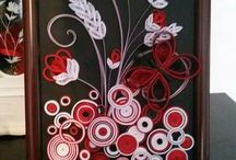 My quilling work