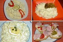vajíčkový a jiné saláty