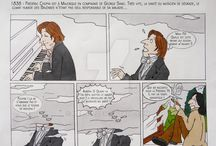 My Chopin comics / Frédéric Chopin comics Funny stories about the life of the musician