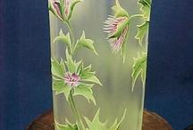 Glass: vases