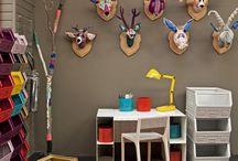 kinderkamers / Leuke ideetjes voor kleurrijke kinderkamers