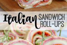 Sanduíches italianos