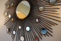 Mirror Mirror / I thinks mirrors are excellent decorative features in almost any room. Here are some ideas and styles.