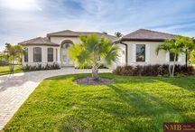 """Ferienhaus """"Felicity"""" in Cape Coral / Brandneues Ferienhaus in Cape Coral an der Südwestküste Floridas mit sehr kurzem Bootsweg in den Golf Von Mexiko."""