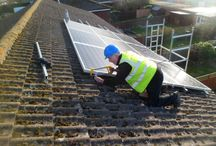 EEC HOME IMPROVEMENTS SOLAR INSTALLATION / Hear is some of the work the team at EECHOMEIMPROVEMENTS have done. #SOLAR #INSTALLATION #JOBWELLDONE #EEC