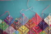 Modulové pletení (modular knitting)