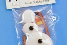 Frost / Frozen / Ideer til partys / fødselsdage
