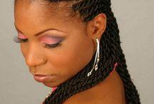 Makeup hair and nails