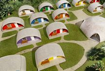 inflating concrete houses