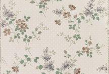 Tapeter / Blå och/eller blommiga