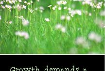 Growth and devlopment / Ideas for promoting growth and development, and conquering fears