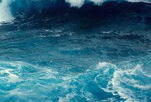 Oceán blue