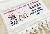mutfak havluları